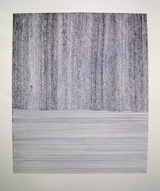 15. Between Earth and Sky III, 2010, Pen on paper, 40 x 60 cm
