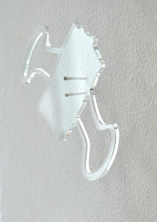 02. Shape shifters, 2011, Acrylic sheet, 12 x 10 cm