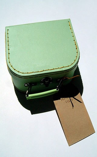 01. Travelling Light, 2008, Mixed media, 12.5 x 16 cm