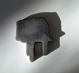 06. Shape shifters, 2011, Cast iron, 14 x 12 x 2 cm