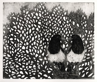 02. Two for joy, 2009, Collograph